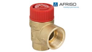 Предохранительный клапан AFRISO MS 6 бар