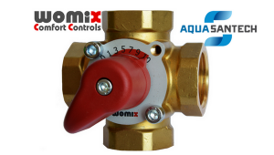 Четырёхходовой клапан с терморегулятором WOMIX MIX M4
