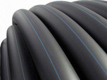 Полиэтиленовые трубы чёрные наружного водопровода HDPE