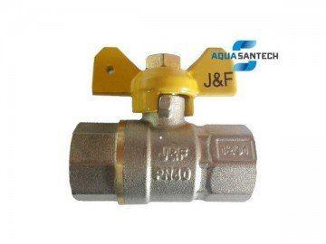 Кран шаровой для газа ВВ PN40