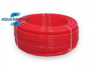 Металлопластиковая труба для теплого пола красная