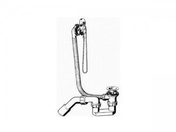 Сифон для ванны Viega с фиксацией на сливе