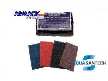 Ткань-губка для зачистки медных труб Amasan