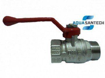 Кран шаровой для воды НВ с ручкой BUGATTI Arizona 605R