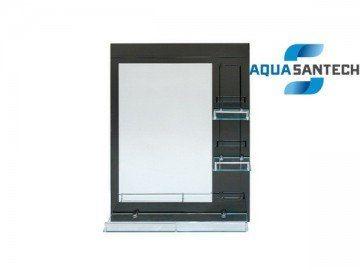 Зеркало A275C для ванной комнаты с полочкой синие