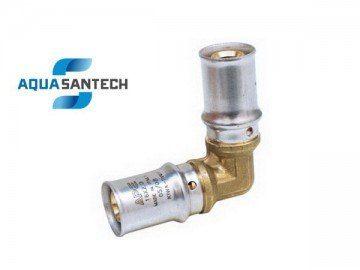 Пресс-угол промежуточный APE для металлопластиковых труб