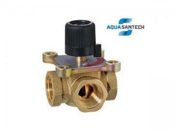 Трёхходовой термокран регулируемый - Wasser Warme