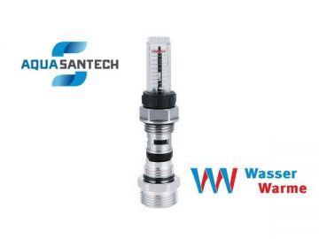 Расходомер - клапан коллекторный для контроля расхода воды