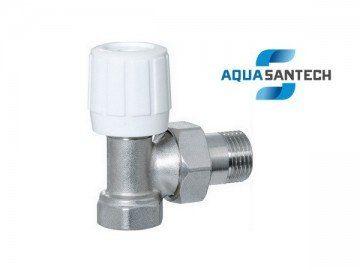 Кран для радиаторов угловой вентельный - Wasser Warme