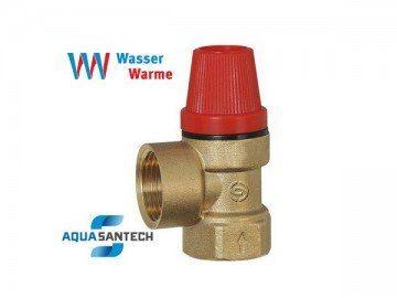 Предохранительный клапан давелния - Wasser Warme