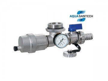 Концевой комплект с термометром на коллектор - Wasser Warme
