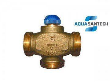 Трёхходовой термостатический клапан CALIS-TS-RD HERZ с 100% распределением
