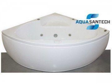 Ванна гидромасcажная угловая с пневмокнопкой APPOLLO