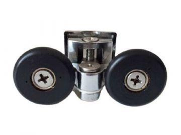 Двойной ролик для гидробокса металлический