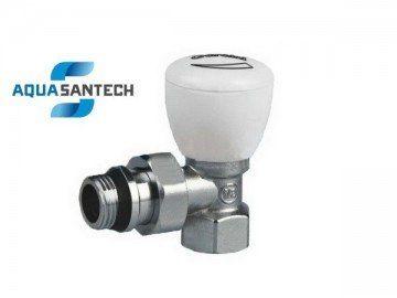Кран радиаторный угловой вентильный с резинкой