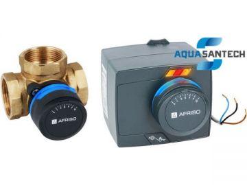 3-ходовой смесительный клапан ARV + электропривод ARM
