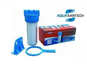 """Колба для фильтра воды с креплением 1/2"""" двухэлементная"""