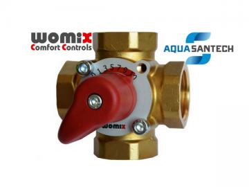 Четырёхходовой смесительный клапан WOMIX MIX M4