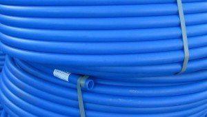 Полиэтиленовые трубы синие наружного водопровода MDPE