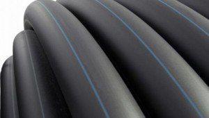 Полиэтиленовые трубы чёрные наружные HDPE
