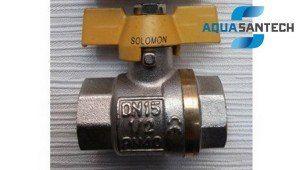 Кран шаровой для газа ВВ PN40 Solomon