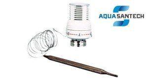 Термоголовка с выносным датчиком 7-28°C - Wasser Warme