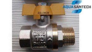 Кран шаровой для газа НВ PN40 Solomon