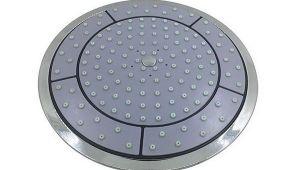 Лейка для гидробокса - ⌀ 245 мм - тропический душ - DP608