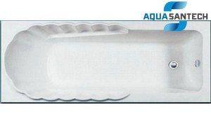 Ванна акриловая прямая ALTEGO HD0343