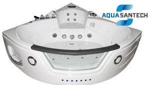 Аэро-гидромассажная ванна угловая IRIS TA-632B - 24 форсунки