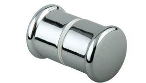 Хром ручка двери гидробокса одно отверстие - LS803
