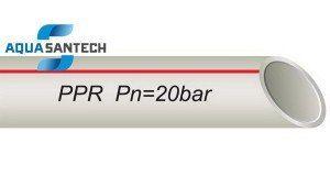 Труба PP-R для горячей воды (алюминиевая фольга)
