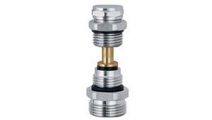 Кран-букса для коллектора нижний (под ключ)