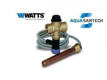 Защитный термоклапан WATTS STS 20.S для твердотопливного котла