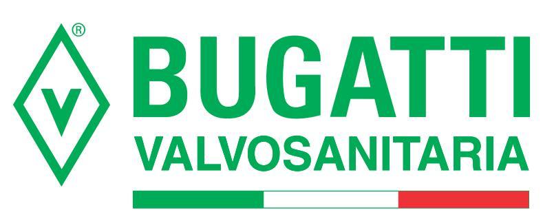 Логотип BUGATTI Valvosanitaria