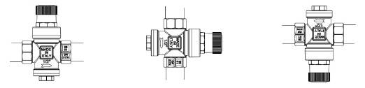 Рисунок возможного положения установки редуктора давления ITAP MINIPRESS
