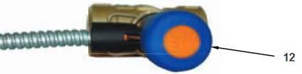 Кнопка для срабатывания температуры защитного клапана WATTS STS 20.S